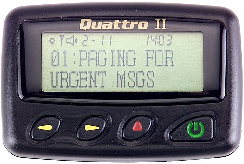 Quattro II Alpha Pager